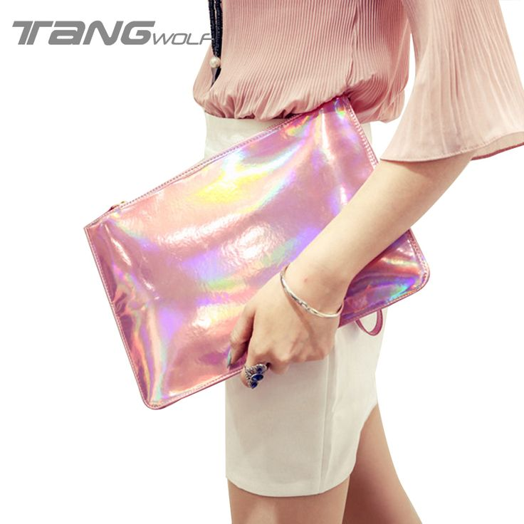 Aliexpress.com: Comprar Nuevo Diseño de Moda Retro Marcas Mujeres Bolsos de Embrague Bolso de Noche Sinfonía Láser Mujeres Del Monedero Party Banquet Bolsas Feminina de clip de la bolsa fiable proveedores en HaiLan E-Commerce Co., Ltd