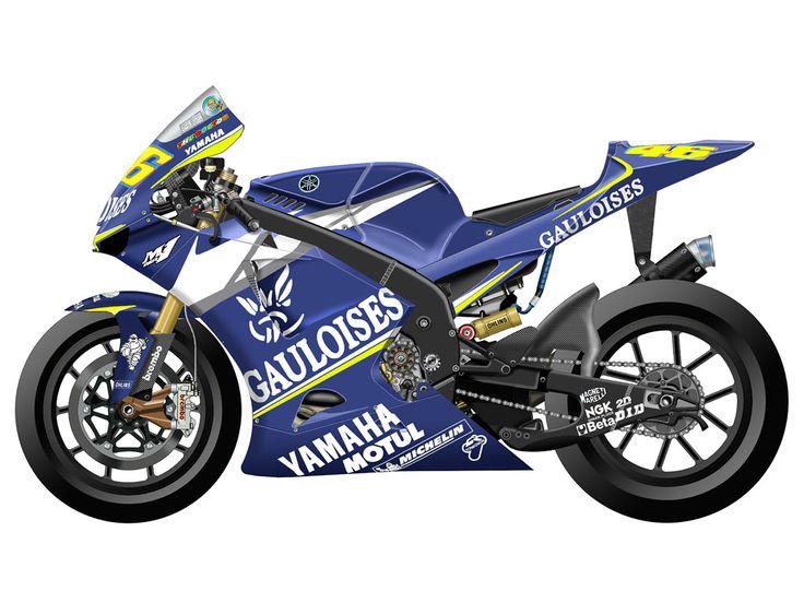 Yamaha YZR-M1 2005 - Gauloises