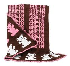 Baby's Teddy Bears Knit Blanket