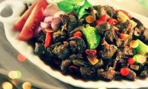 Tumis Manis Daging Kambing (Cina)