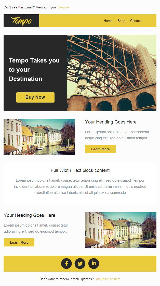 8 best email template images on Pinterest Email design inspiration