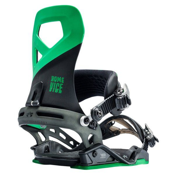 What's your vice? Snowboarding is ours. Check out the Rome SDS Vice bindings.