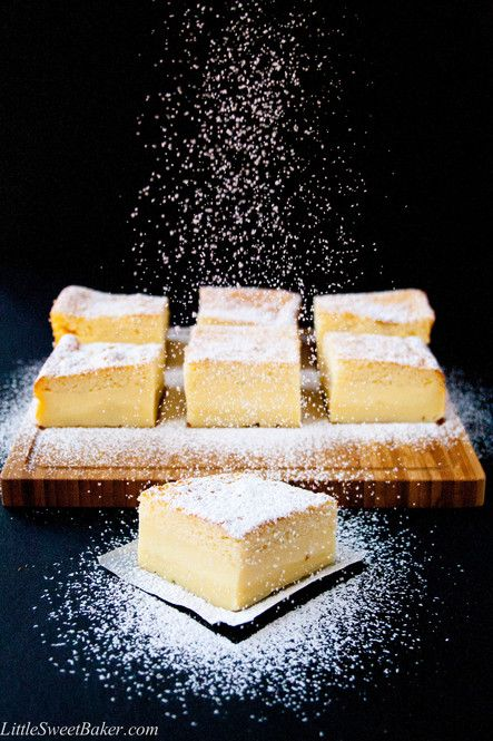 心ときめく!混ぜて焼くだけで3層になる魔法のケーキがすごい♡ - Locari(ロカリ)