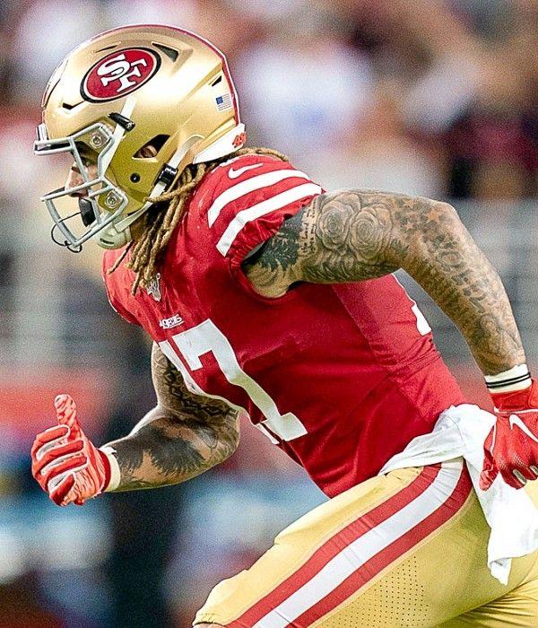 49ers Injury News Wr Jalen Hurd Unlikely To Play Vs Buccaneers Says Kyle Shanahan 49ers San Francisco 49ers Football Jalen Hurd