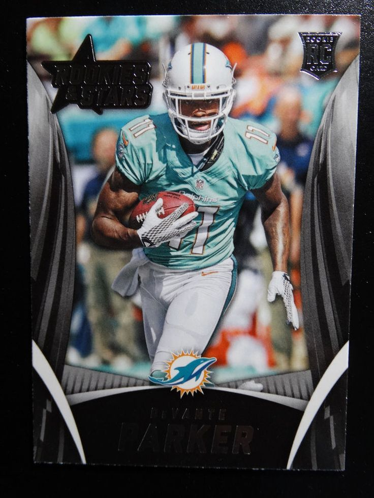 2015 Panini Rookies And Stars #122 Devante Parker Miami Dolphins Rookie Card #MiamiDolphins