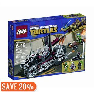 LEGO Teenage Mutant Ninja Turtles Shredder's Dragon Bike by LEGO® | Toys | chapters.indigo.ca 20% rabais (20$ au lieu de 24,95$)