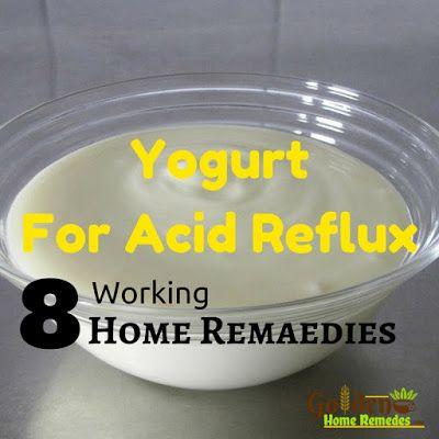 Is Yogurt Good For Acid Reflux – Acid Reflux Treatment