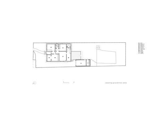 Allen Key House,Plan