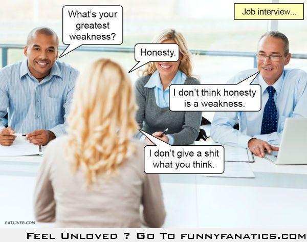 Job interview lol