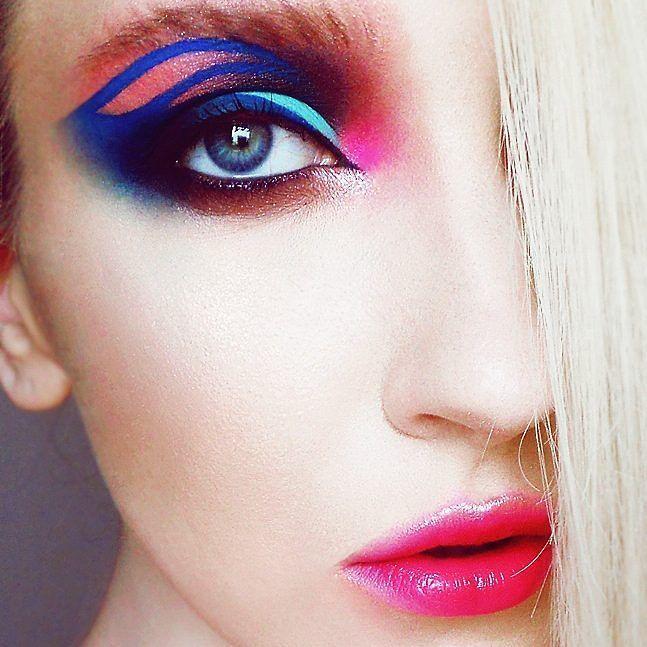 #mua #blueeyes #blonde #makijaż #artystyczny #lublin #beauty #fashion #instamood #inspiration #lips by sorokairyna You can follow me at @JayneKitsch