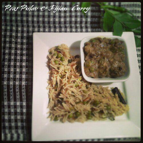 Rice cooker Peas pulao