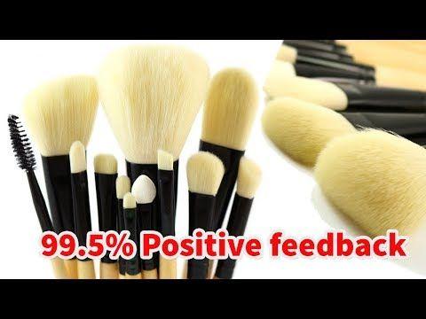 Professional Makeup Brush Set   12Pcs Brushes Tools Kit