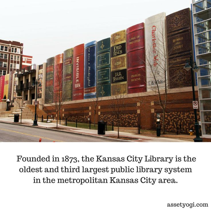 Founded in 1873, the Kansas City Library is the oldest and third largest public library system in the metropolitan Kansas City area.   #RealEstate #Architecture #CityLibrary #AmazingArchitecture #AssetYogi