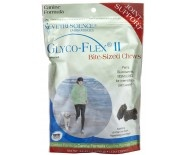 Glyco-Flex III Chicken Chews 750MG 120/Bag. Glyco-Flex II SoftChews provide intermediate joint and connective tissue support for dogs. Glyco-Flex II SoftChews contain a combination of Perna canaliculus, glucosamine HCl and MSM for arthritis, joint and connective tissue support and  complete nutritional support for your pet. $42.95
