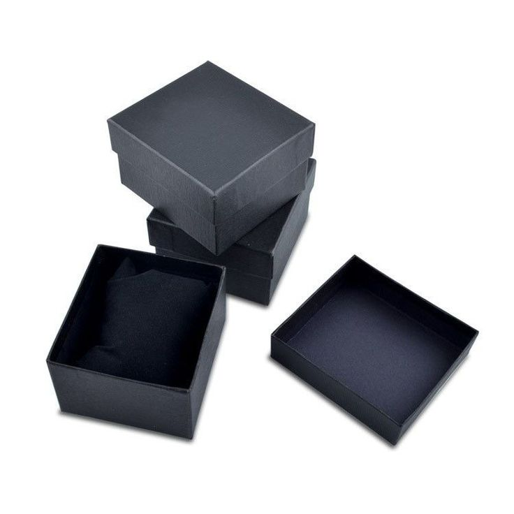 Nice Paper Watch Box With Pillow Packing Black Gift Box for watches Case Cheap Price