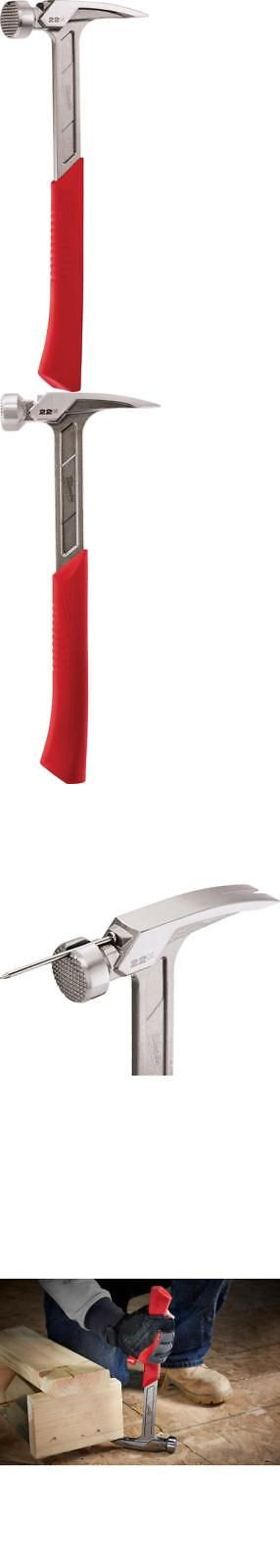 Hammers and Mallets 20763: Milwaukee 48-22-9022 22 Oz. Milled Face Framing Hammer -> BUY IT NOW ONLY: $41.49 on eBay!