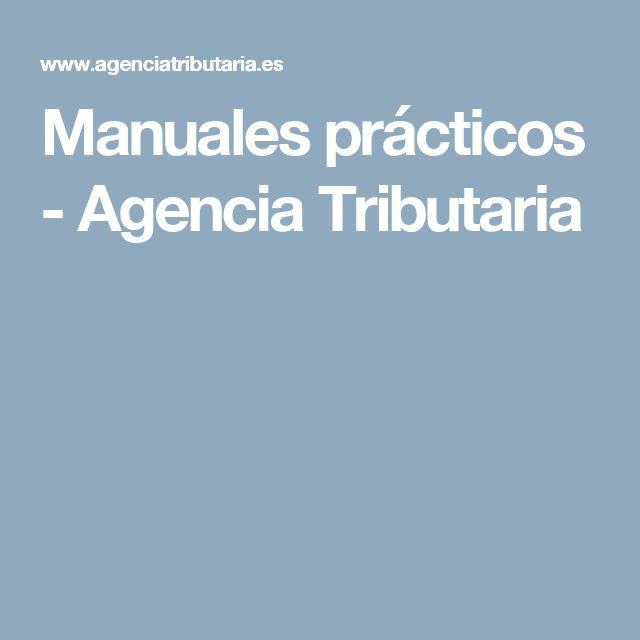 Manuales prácticos - Agencia Tributaria