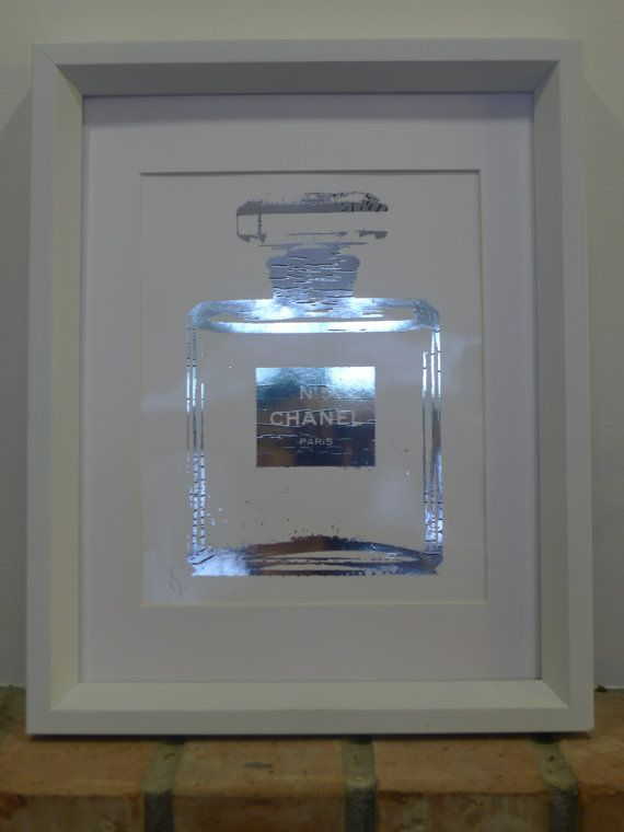 Chanel No 5 Perfume Bottle Sterling Silver by ISeeNoise on Etsy, $20.00