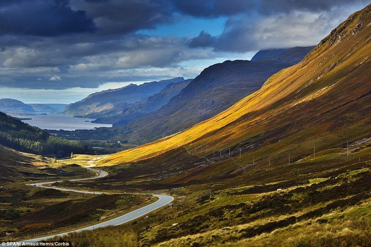 New to the scene: Scotland's NC500 has been named among the top six road coastal road trip...