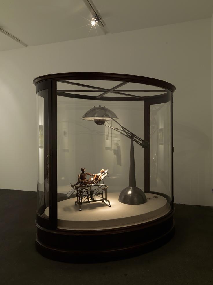 Ydessa Hendeles at Johann König - Beautiful display case