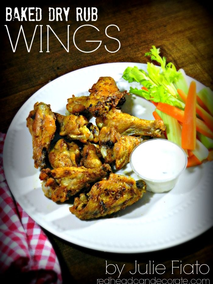 These Baked Dry Rub Chicken Wings are so good, and I had everything I needed. I'm making more tonight! The chef is from Buffalo so she knows her wings.