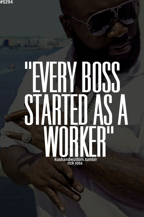 the trick is to always remember the good bosses you had and the bad ones....and never forget that you were once a worker yourself!!