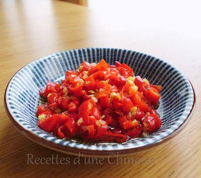 Recettes d'une Chinoise: Lacto-fermentation : Duo jiao ou piments hachés et fermentés 剁椒
