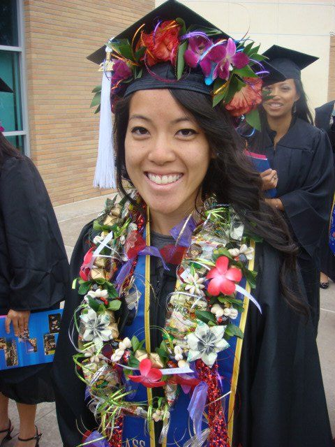 how to make money leis for graduations