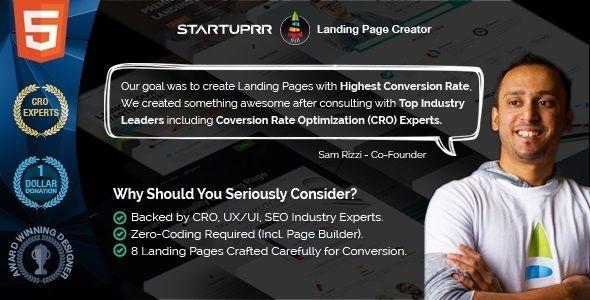 Startuprr - Multi-Purpose Landing Page Html Template (Marketing) - http://buyonlinewebsite.com/startuprr-multi-purpose-landing-page-html-template-marketing/