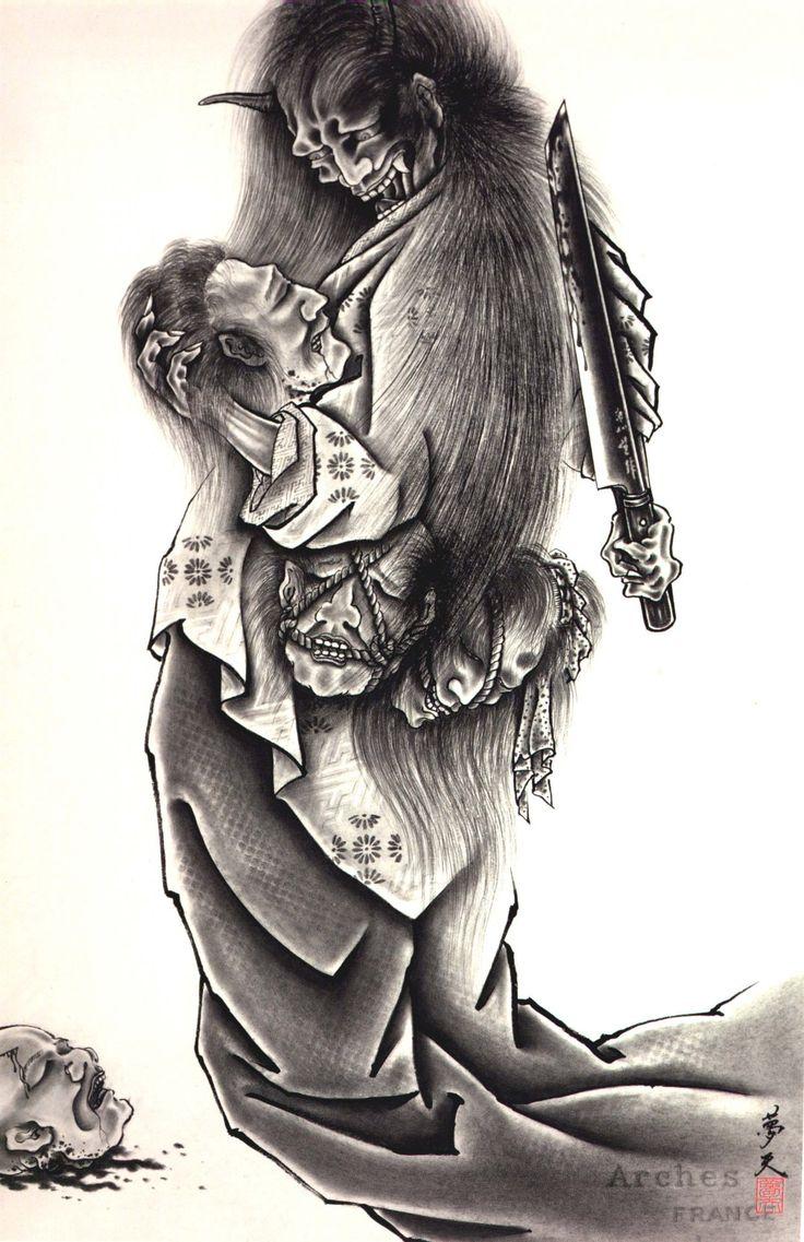 Pics Photos - Oni Demon Tattoo Japanese Demon Tattoo Design