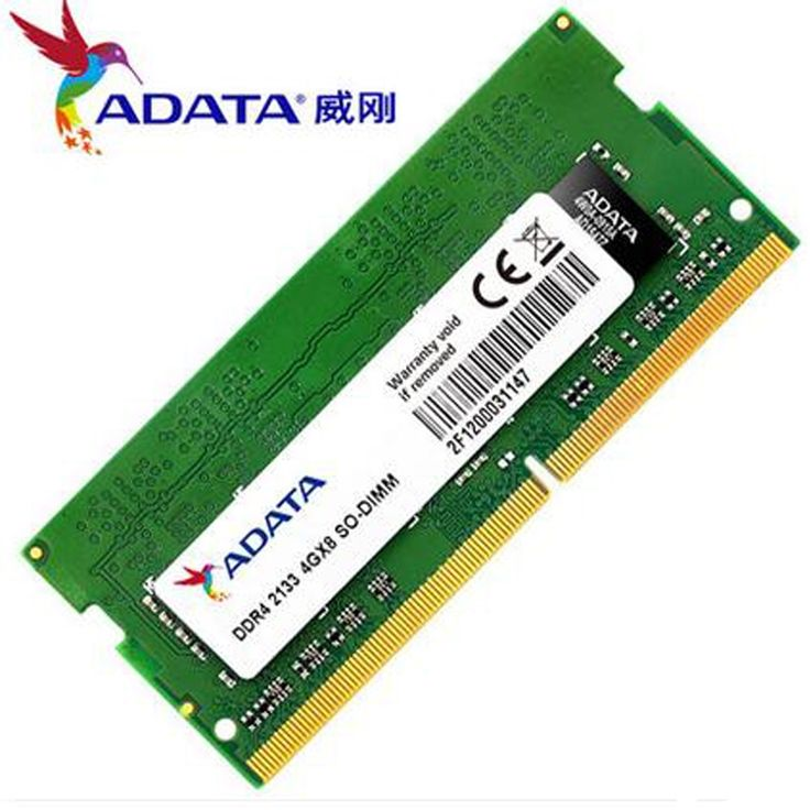 49.64$  Buy now - http://aliu7w.shopchina.info/go.php?t=32792802480 - High Quality Original Brand ADATA Laptop Memory DDR4 2133MHz 4GB Low Voltage 1.2v Sodimm Memoria DDR4 4 GB Notebook Ram 49.64$ #buymethat