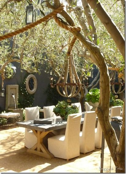 love this a girl can dream right photo credit ann shumbo via peggy outdoor dining living room hardware - Restoration Hardware Outdoor Furniture