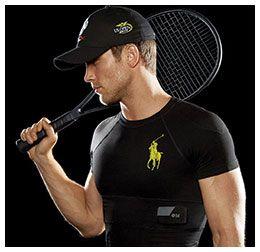 Fashion Week 2015 - Ralph Lauren polo tech shirt #FashionTech #WearableTech #TechShirt