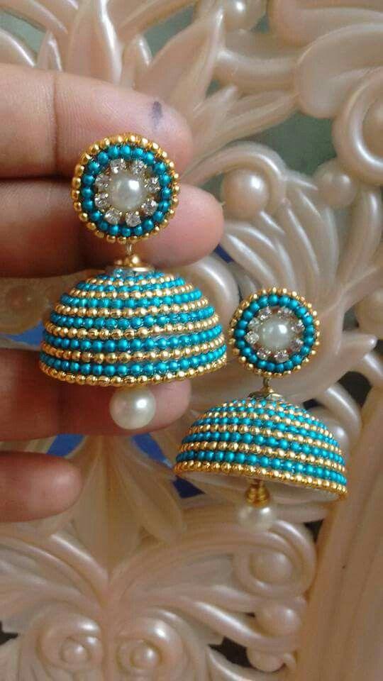 Thread bangle