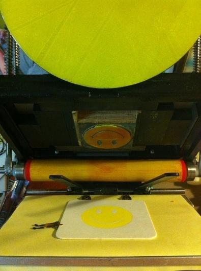 mini letterpress machine