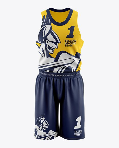 Download Freepik Free PSD Mockup Basketball Kit Mockup - Front View ...