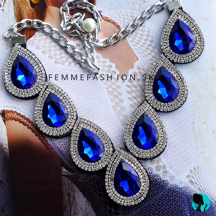 Náhrdelník Grand Blue  http://femmefashion.sk/nahrdelniky/3050-nahrdelnik-grand-blue.html
