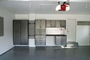Custom Garage Cabinets - modern - garage and shed - chicago - Pro Storage Systems
