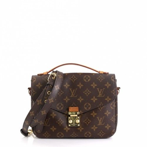 Metis Brown Cloth Handbag Handbag Outfit Louis Vuitton Metis Louis Vuitton