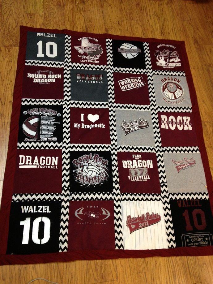 TShirt Quilts: I WANT!