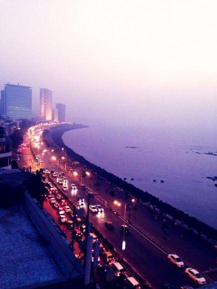 Marine Drive// Mumbai, India