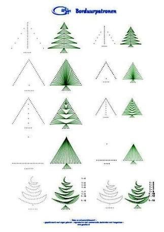 Image Result For Christmas Tree String Art Pattern Christmas Cards