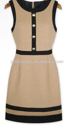 vestidos para señoras sencillos estampados - Buscar con Google
