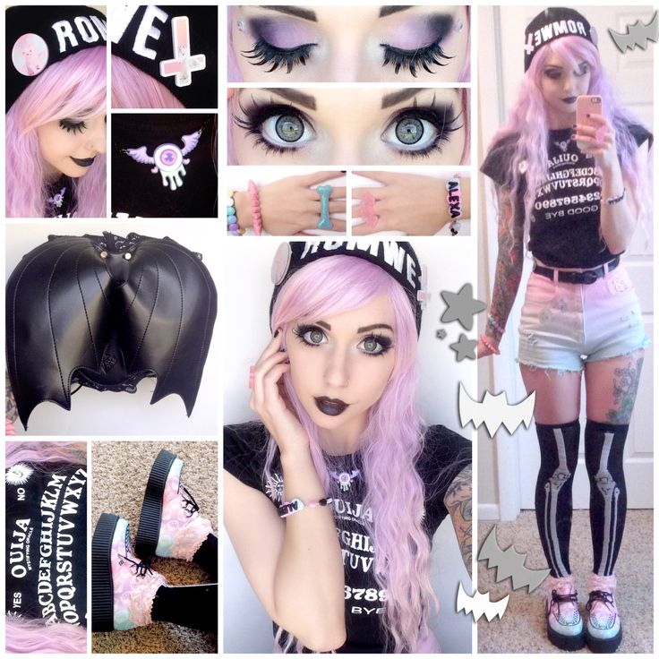 Alexa's Style Blog: ♡ ✞ Pastel Goth Daily Style Post ✞ ♡