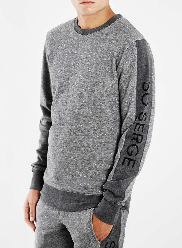Serge Denimes Grey Sweatshirt*