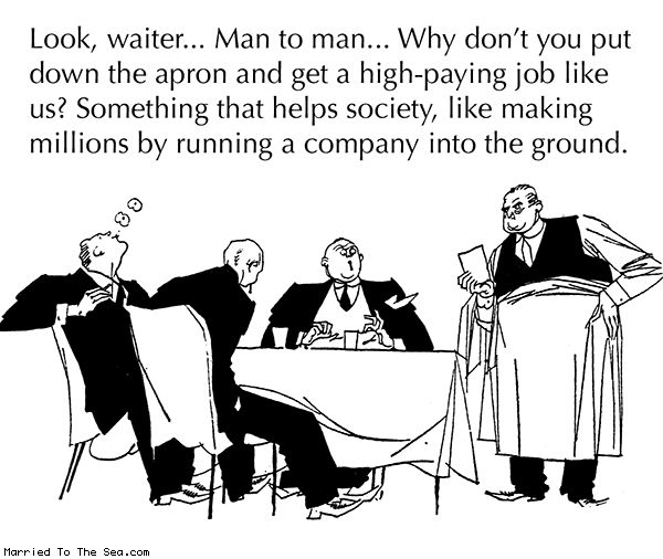 Married To The Sea comic: man to man
