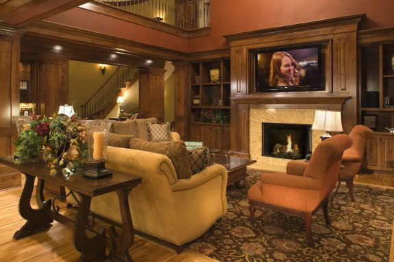 70 inch flat screen tv and fireplace google search - Living room layout with tv over fireplace ...