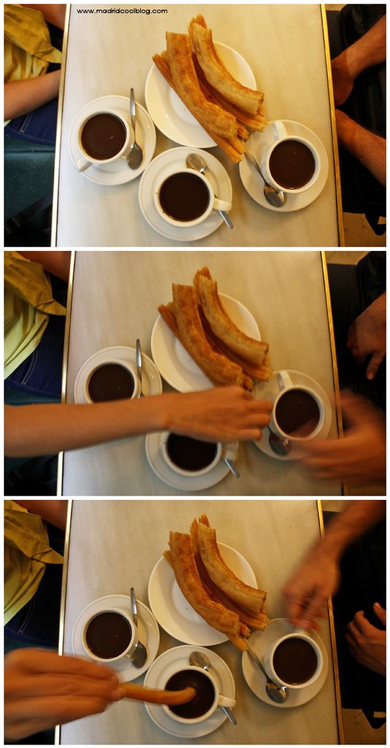 CHOCOLATERÍA SAN GINÉS MADRID COOL BLOG chocolate con churros porras