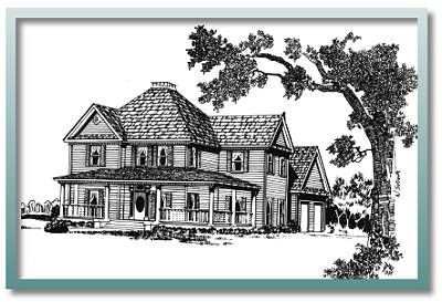 66 best victorian houses images on pinterest house floor for Authentic historical house plans