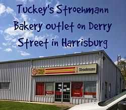 Tuckey's Stroehmann Bakery Outlet on Derry Street in Harrisburg -- Thanks to a reader tip, I found another great location for discount bread, baked goods, snacks and a variety of other products, Stroehmann (Tuckey's) Bakery Outlet on Derry Street in Harrisburg. Be sure to check out my post for more info!